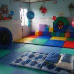 Spielraum und Monas Bett im katholischen Kindergarten in KaDon