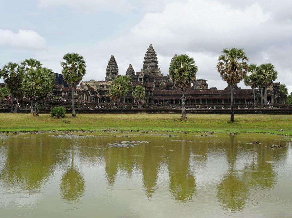 Alles Roger in Kambodscha? - In den Tempelanlagen von Angkor Wat scheint alles Roger zu sein