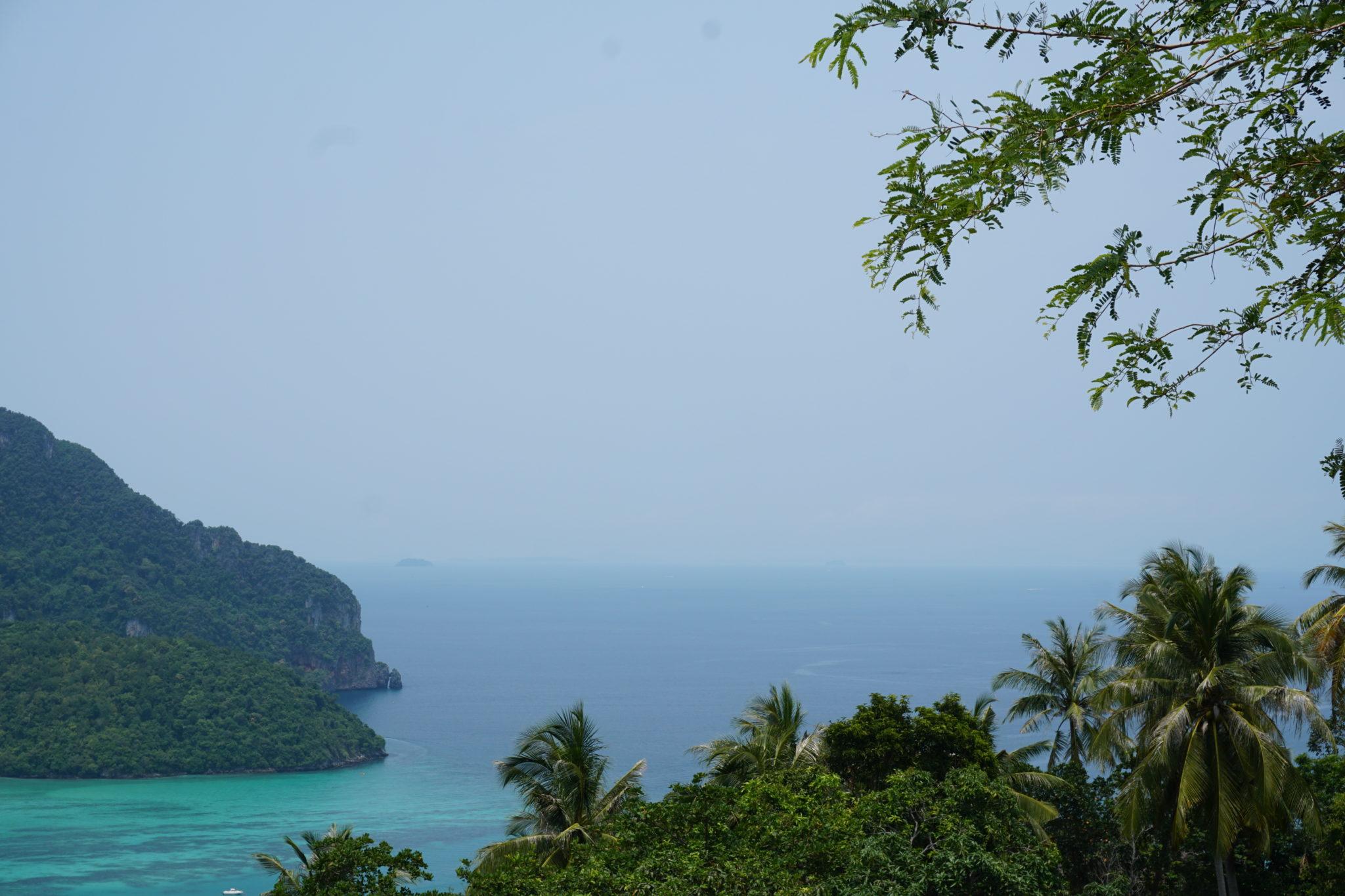 Aussicht über Ko Phi Phi Island in Thailand