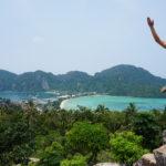 Springbild von Mona auf Ko Phi Phi
