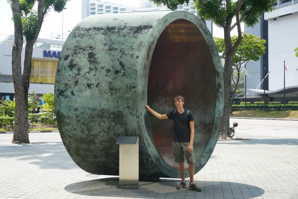Kunstobjekt in Singapur