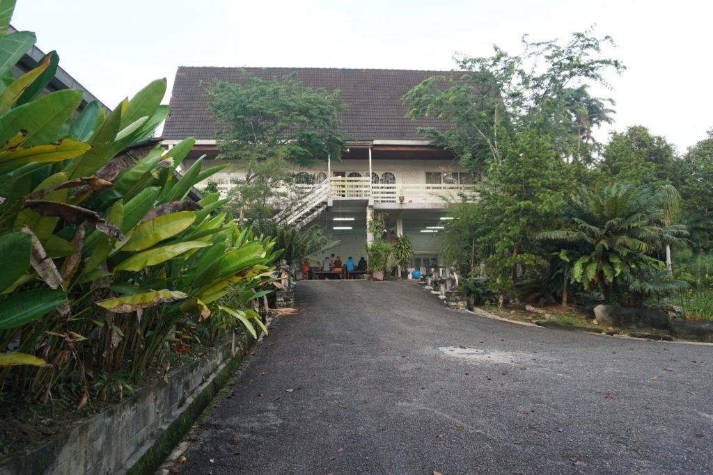 Das Hauptgebäude in Johor Saleng Eco Village