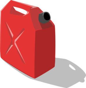 Illustration: Benzin-Kanister, Reserve-Tank