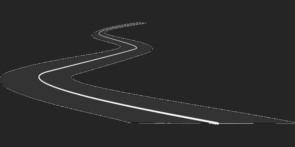 Vektorgrafik Straße