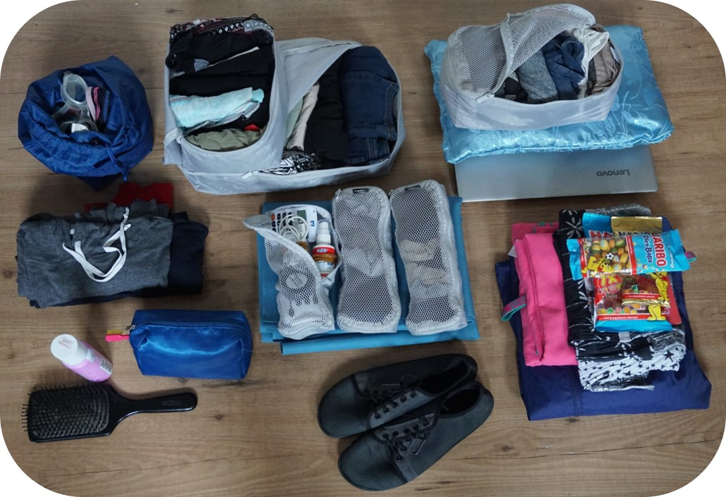 Inhalt unseres Backpacks