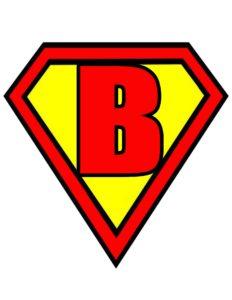 Superman Logo für Bruce