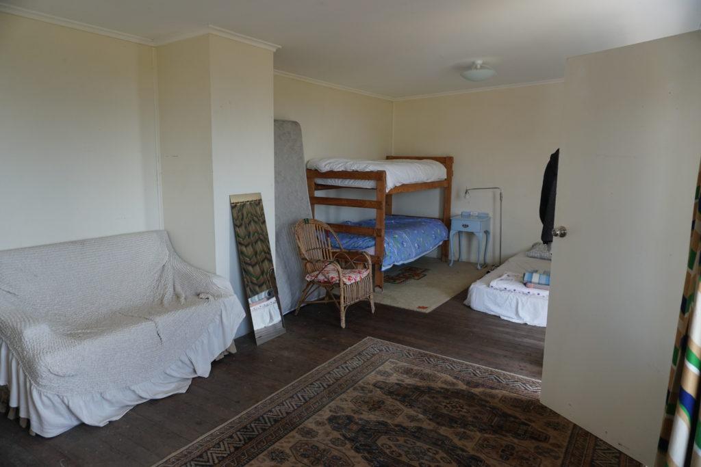 Schlafzimmer des Ferienhauses bei unserem Kurzurlaub auf Kangaroo Island