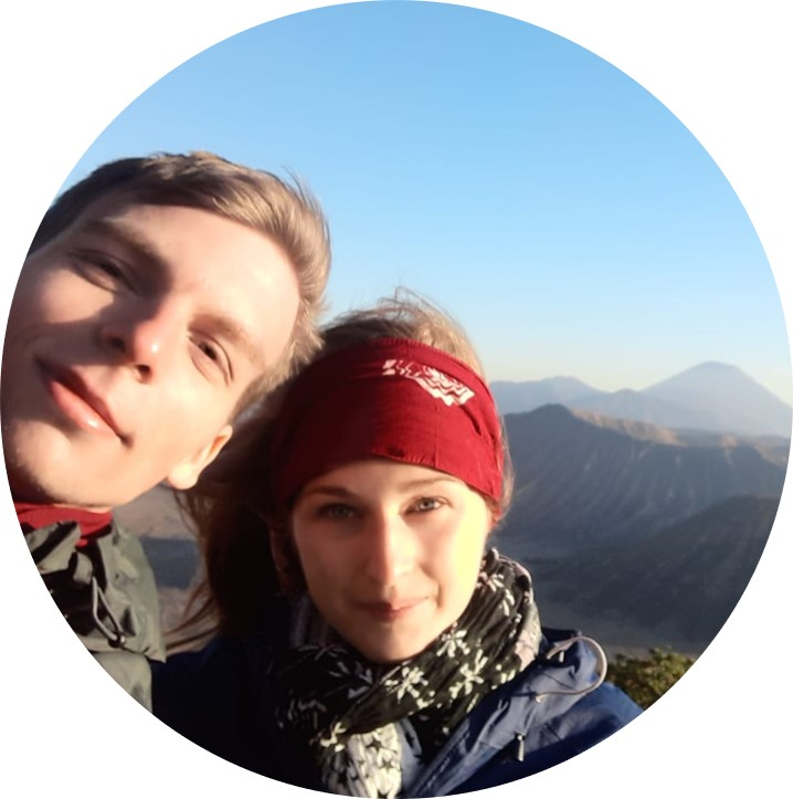 Foto von Marcel und Mona auf Reisen