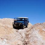 Jeep in den Opalfeldern nahe Andamookas